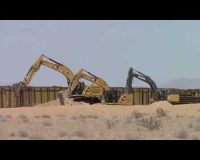 It's Being Built: 5 Recent Examples of New Border Wall Construction on Video