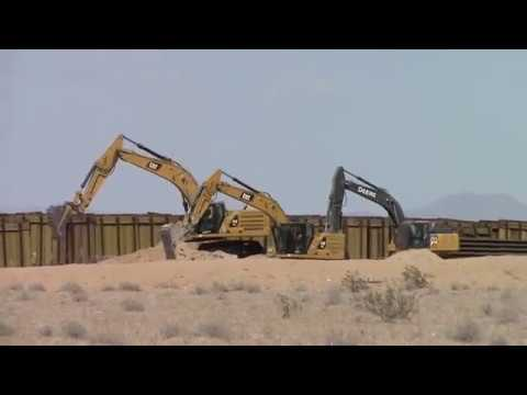 Under Construction: 5 Recent Examples of New Border Wall Construction on Video