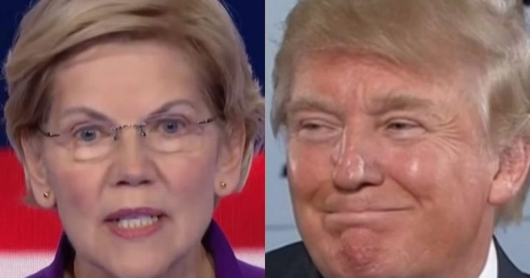 That's One Ticked Off Indian! Elizabeth Warren Takes Trump Derangement Syndrome to the Next Level