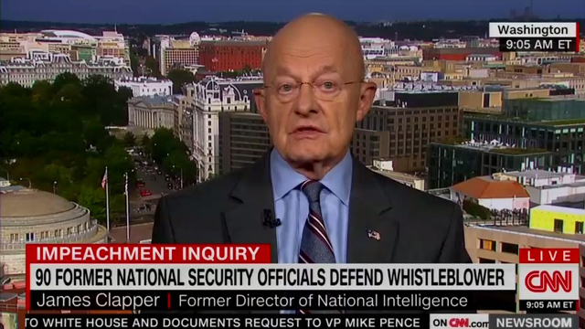 Photo of James Clapper Talks Russiagate on CNN — 'Obama Made Us Do It!'