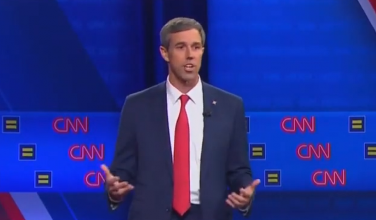 Beto believes religious institutions should be stripped of their tax-exempt status if they oppose homosexuality