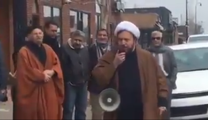 "Photo of Dearborn Imam: Saudi Leaders Are ""Agents Of The Jews,"" Urges Muslims To Stand Against ""Saudi-Zionist Airplanes"""