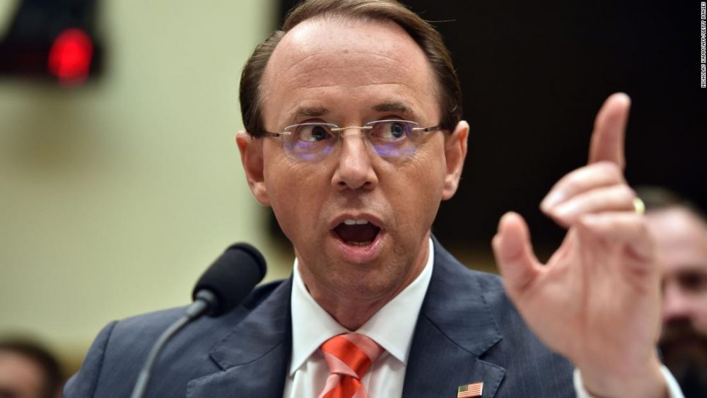 Photo of Judicial Watch Uncovers Rosenstein Email to Mueller: 'The Boss' Doesn't Know We're Talking
