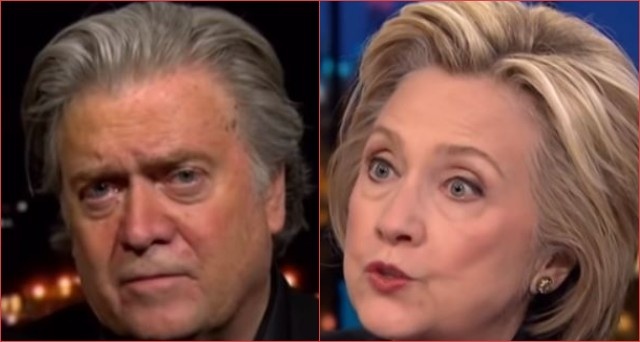Photo of Steve Bannon Says Hillary is Running & Democrats Will Lose the House