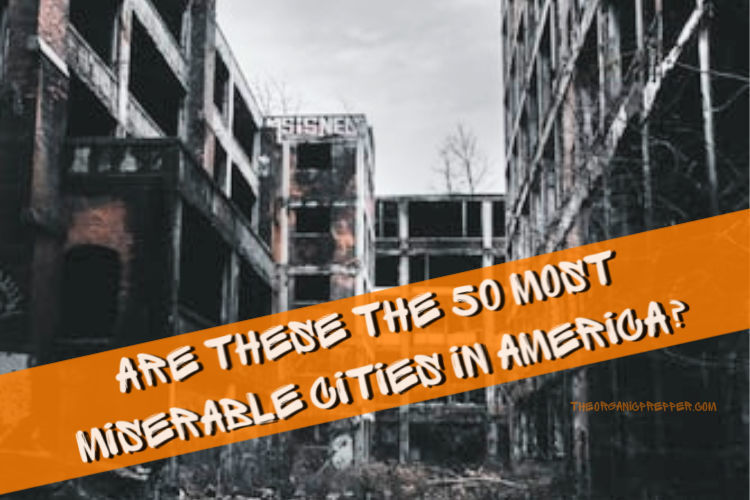"Photo of Are These the 50 ""Most Miserable"" Cities in America?"