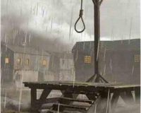 Ironic: They want to HANG the last innocent man in Washington