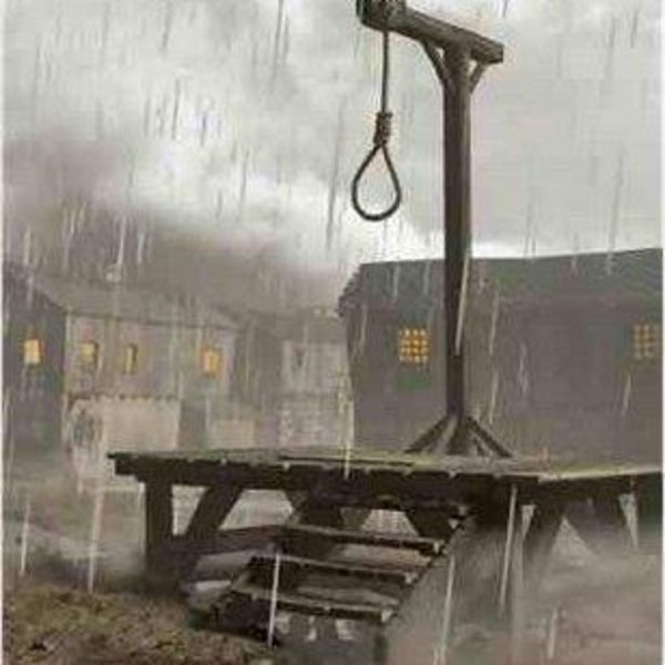 Photo of Ironic: They want to HANG the last innocent man in Washington