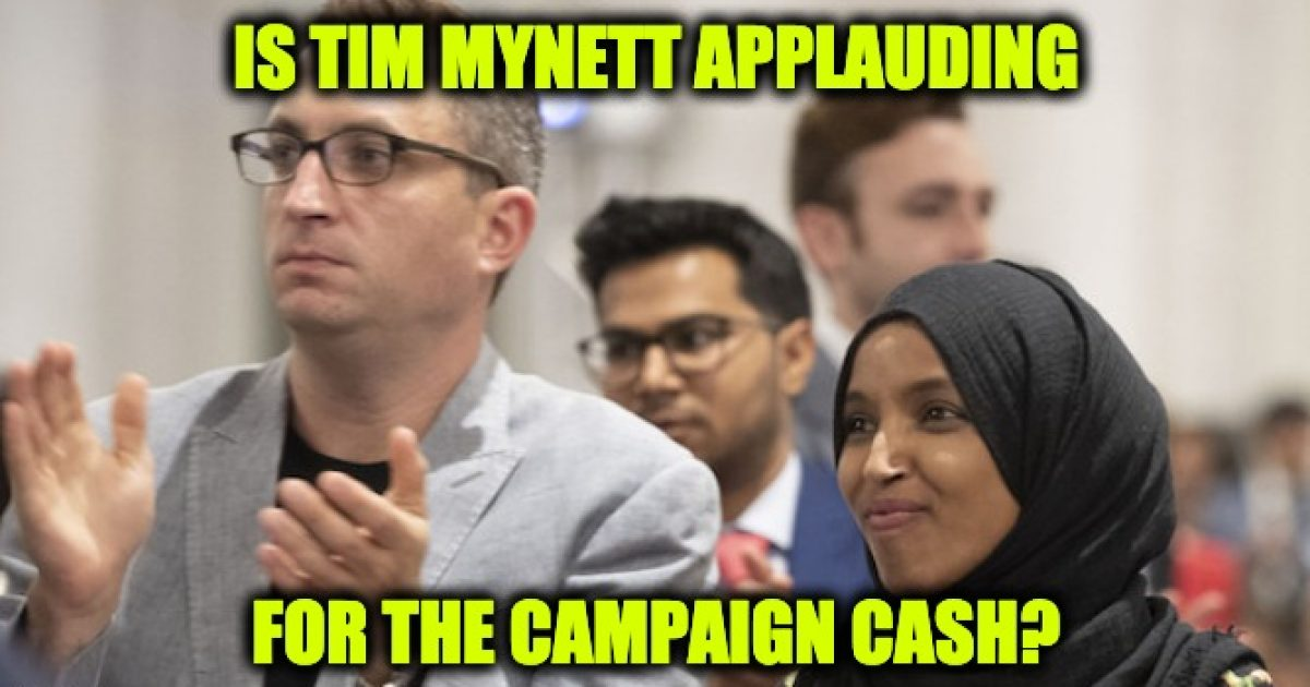 Photo of Ilhan Omar Gave 30% of Campaign Cash to Alleged Boyfriend Tim Mynett's Firm