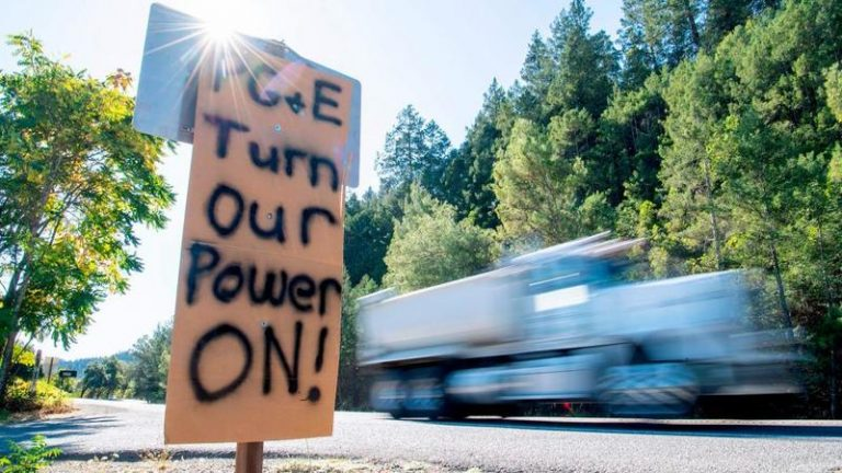 PG&E May Sporadically Cut Power To Californians For A DECADE