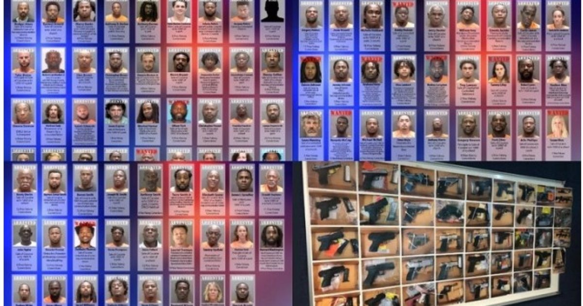 """Photo of Sarasota, FL: 95 Arrested in Special """"Operation SURGE"""""""