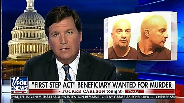 Photo of Tucker Blasts 'First Step Act' After Freed Gang Member 'Joey Crack' Allegedly Stabs Man to Death