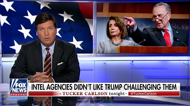 Photo of Tucker Carlson: Intel Agencies are Punishing Trump for 'Crime' of Refusing to Bow Before Them