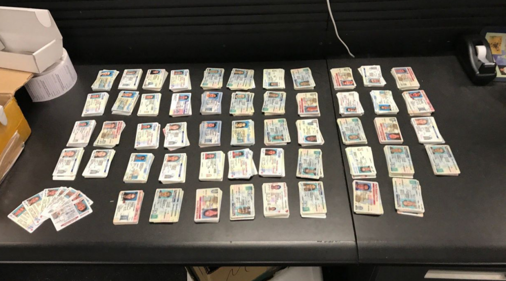 Photo of Customs agents seize $95M in counterfeit goods along with thousands of fake IDs