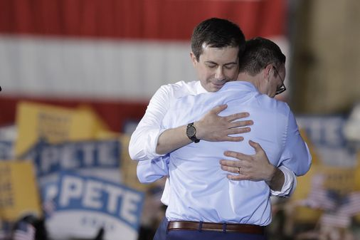 Shooting straight: Buttigieg would be the Dems GAY INSURANCE POLICY against Republican payback.