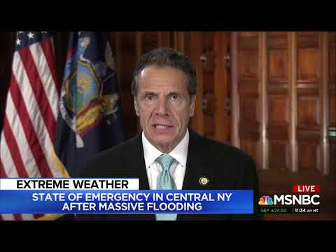 What??? NY Gov. Cuomo Falsely Claims There Were No Hurricanes, Tornadoes Before Global Warming