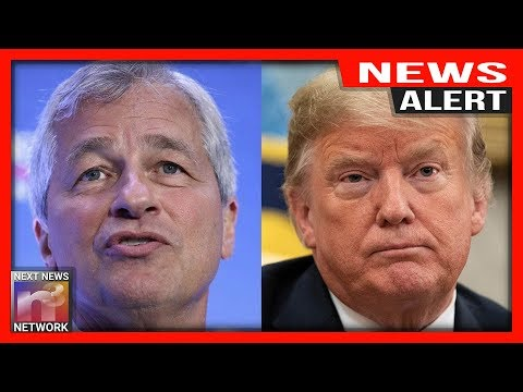 Chase Bank CEO Jamie Dimon Drops Big Prediction for Trump's 2020 Re-Election Chances