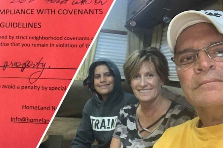 Photo of FAMILY FACING JAIL for Living in RV on Own Property to Repair Home After Fire