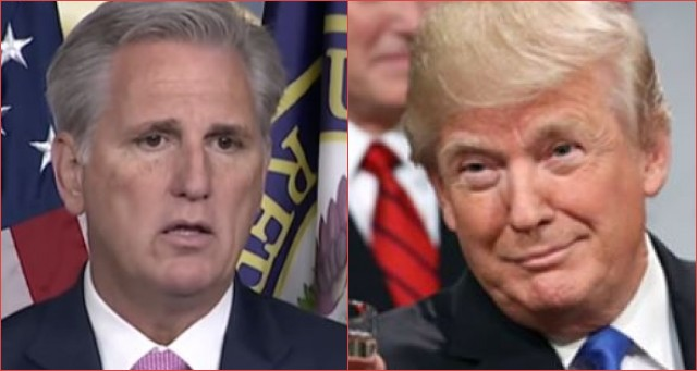Bombshell: McCarthy Says Dems Are Willing to Flip on Impeachment