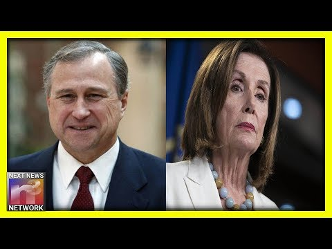 Photo of Richard Nixon's Son-in-Law to Nancy Pelosi: FAKE Impeachment is 'A Disaster For Democrats In 2020'