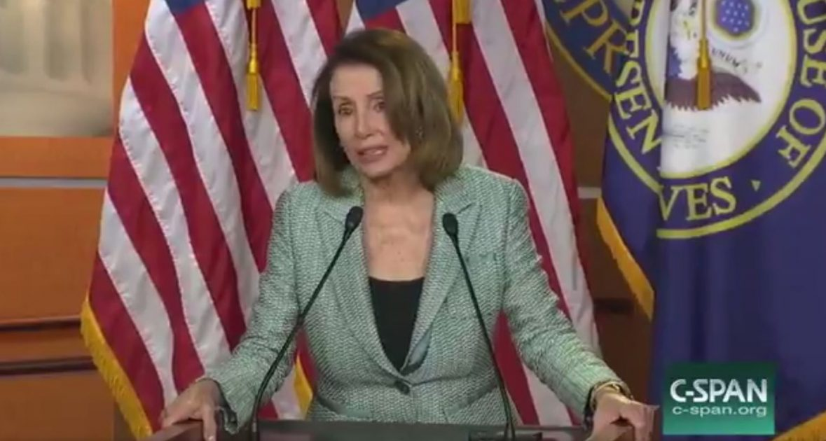 Power-Tripping Pelosi: Letting the People Decide Who's President is Dangerous