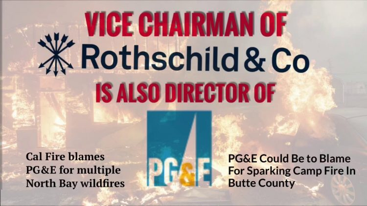 "California: Activist Calls Out ""Rothschild-Bankster-Controlled"" PG&E For Using ""Delphi Method"" Against Sonoma County"