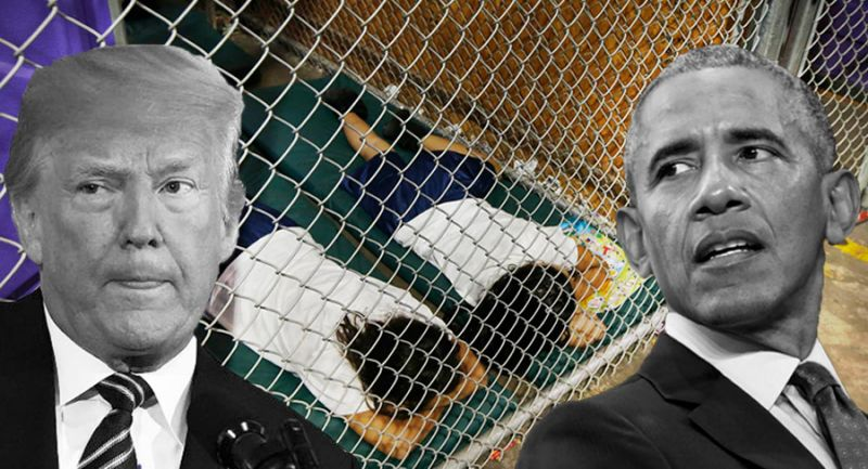 "TOO FUNNY! Major FAKE News Outlets Publish ""Breaking"" False Story About 100,000 Migrant Kids in Detention- Immediately Delete it After Realizing it Happened Under OBAMA"