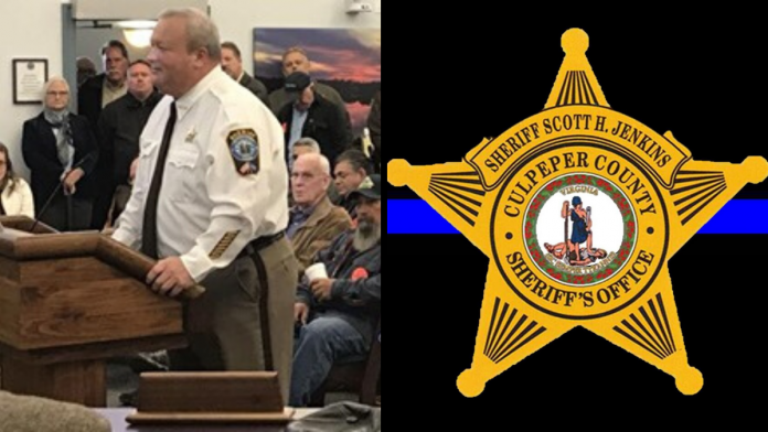 "Photo of Virginia Sheriff Promises to ""Deputize Thousands"" if Necessary to Defend 2nd Amendment"