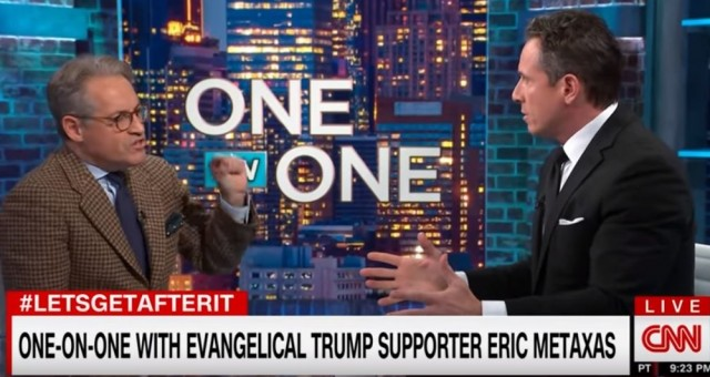 Photo of Watch — Chris Cuomo Disgustingly Blasts Christian Author and Trump Supporter