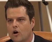 Matt Gaetz Shreds Democrats' Impeachment Lawyer After He Says He's Not Partisan