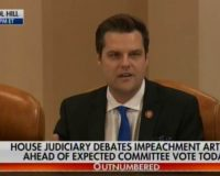 Gaetz Goes There!!! Describes Hunter Biden's Drug Induced Adventures During Impeachment Hearings