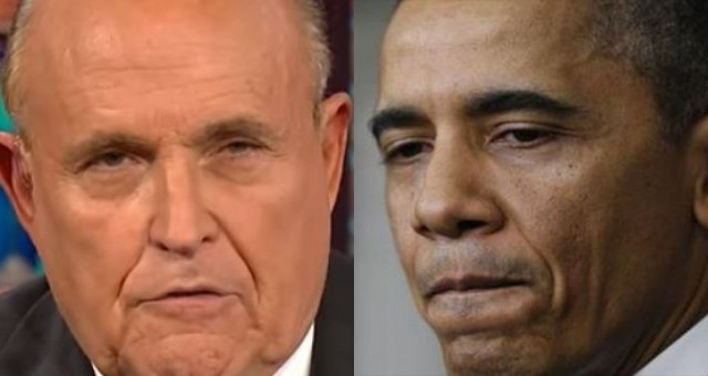 Photo of Rudy Giuliani Declares War on Obama, Says He's Ready to Release Some Bombshells