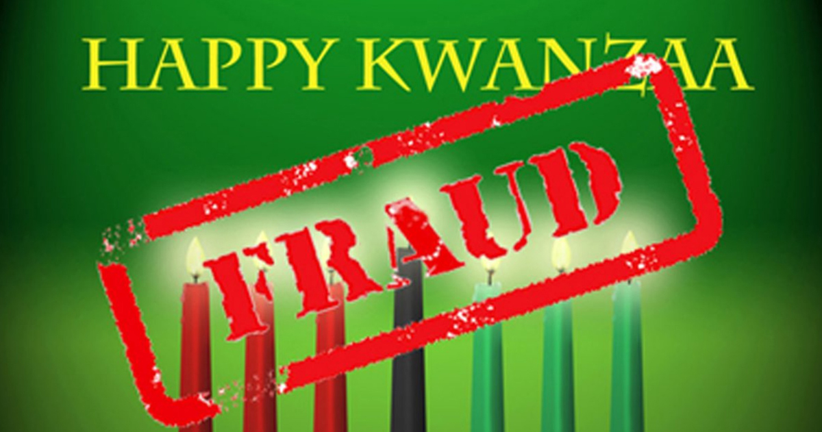 Photo of The Great Kwanzaa Hoax: Invented by a Rapist & Torturer Con Man To Divide, Not Unite