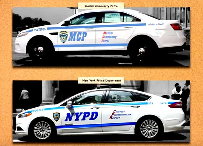 Photo of NYC's FAKE COPS: Muslim Community Patrol Plans Increase From 3 Patrol Cars to 30. Why?