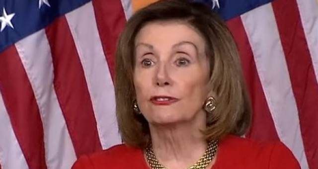 Photo of Pelosi Loses it on Camera. What Is Wrong With Nancy, Why Can't She Talk?