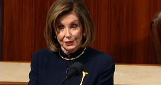 Photo of Nancy Pelosi Gets Busted Lying on The House Floor About Impeaching Trump