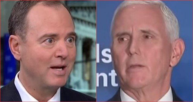 Photo of Schiff Now Making New Conspiracy Up About VP Mike Pence, Claims He is Implicated in Ukrainegate