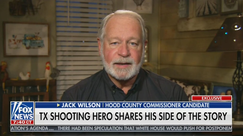 Texas Church Hero, Jack Wilson, on Bloomberg: 'If we did things his way, many more would be dead'
