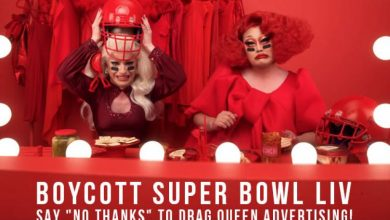 Photo of LGBT Tackles Football: Petition calls for Fox Super Bowl boycott for airing ad with drag queens