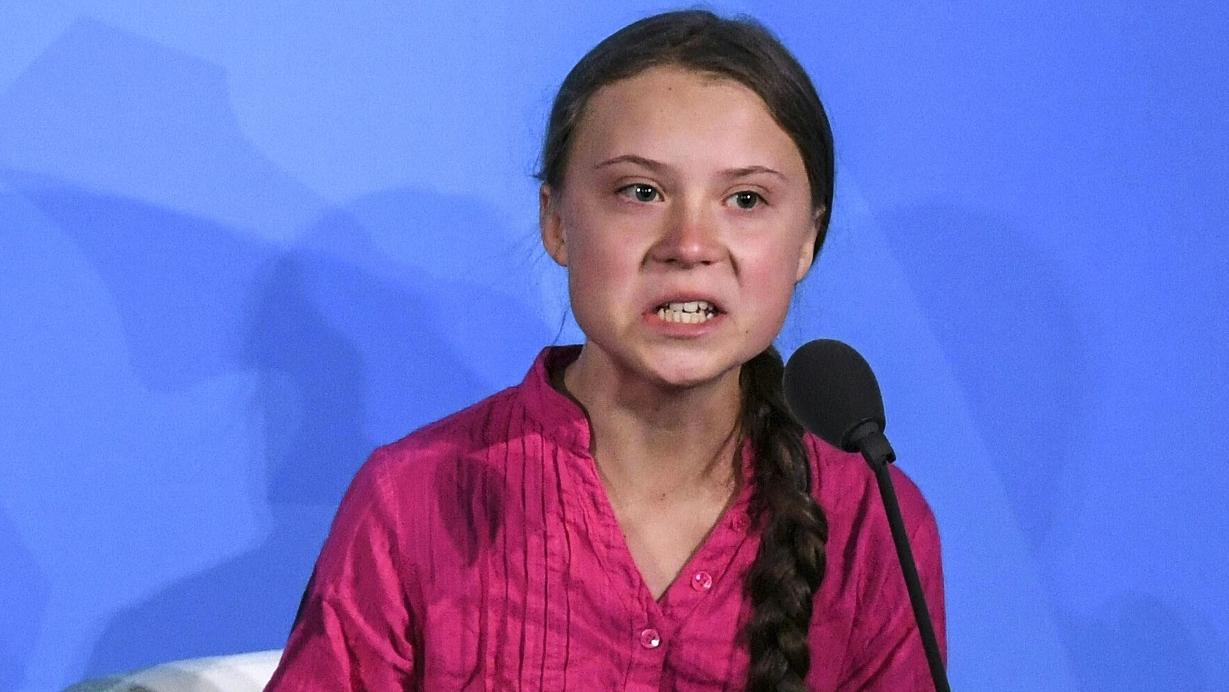 "Photo of 7-year-old children left psychologically terrorized after hearing Greta Thunberg speech… ""I don't want to die!"""
