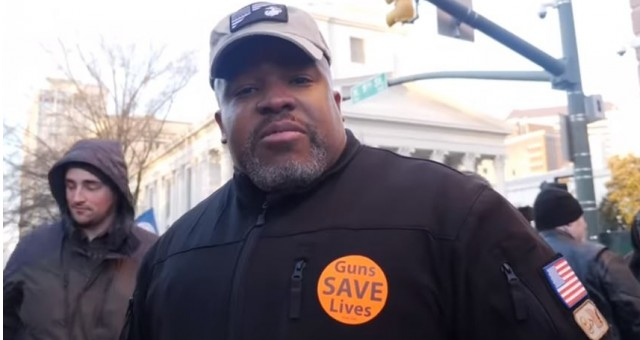 Photo of Watch: Black Gun Rights Activist at Virginia Rally Busts The Left's Anti-2A Narrative