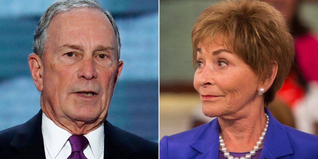 Photo of Michael Bloomberg & Judge Judy Campaign in Texas, 45 People Show Up