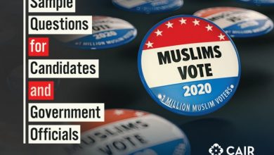 "Photo of Designated Terror Group CAIR Launches 2020 ""Muslims Vote"" Campaign In US – Look At Their Questionnaire"
