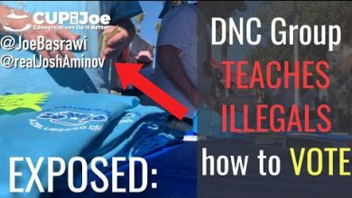 Photo of Democrat Caught on Video Teaching Illegals How to Vote