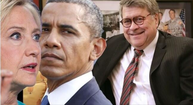 Indictments Coming? Obama & Hillary Look Like They Are Finally Going to Get Dragged into Barr & Durham's Investigation