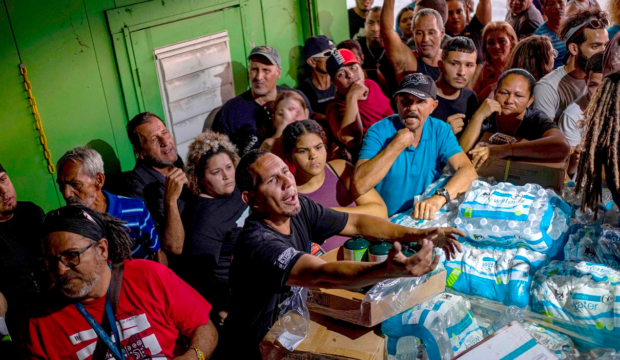 Photo of Puerto Ricans Outraged After Unused American Aid Found Rotting in Warehouse