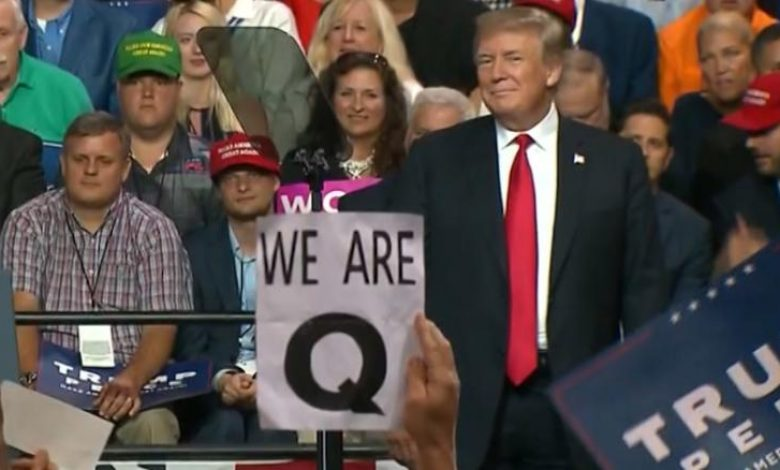 #QTard Drama Theater - Are THEY Going To COVER IT ALL UP? plus more 180801172046-qanon-trump-rally-foreman-lead-pkg-vpx-00000000-exlarge-169-780x470