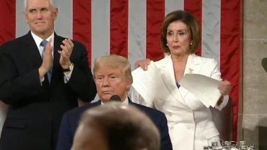 Photo of When Pelosi Ripped Trump's Speech In Half, Was It A Harbinger Of What Is About To Happen To America During This Election?