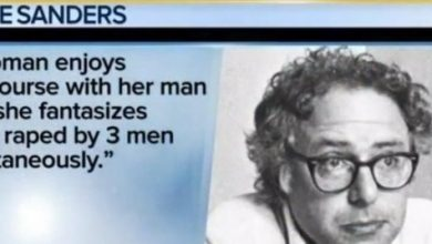 Photo of Bernie's Rape Essay Lets His Female Supporters Know That He Thinks They Are Sluts