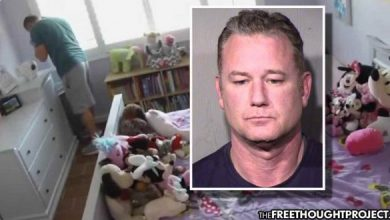 Photo of Family Horrified to Find Cop on Nanny Cam in 3yo Daughter's Room Sniffing Her Underwear