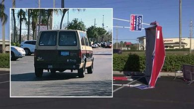 Photo of Florida: Man Deliberately Rams Van Into GOP Voter Registration Tent